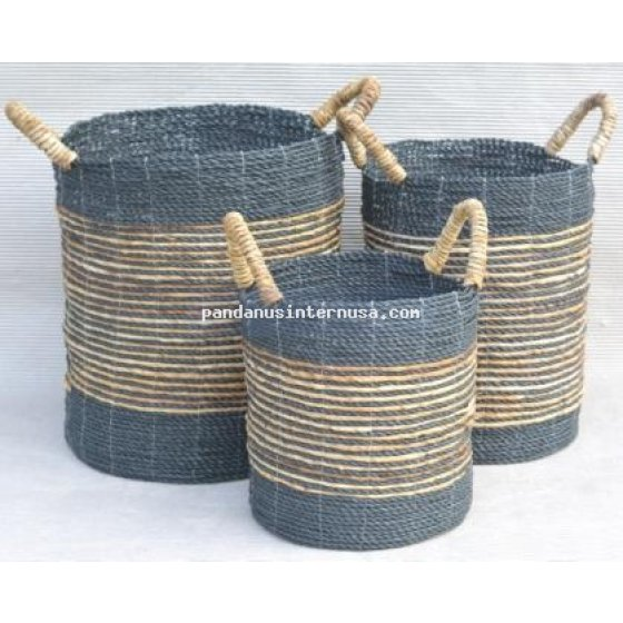 handicraft Sea grass banana basket set of 3